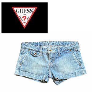 Guess Stretch Denim Shorts - Size 26